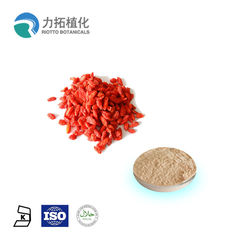 China Organic Goji Herbal Extracts / Plant Powder  Promote Immunity Lycium Barbarum supplier