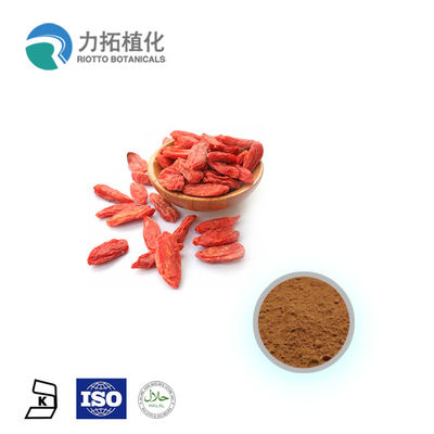 China Polysaccharides Plant Extract Powder Wolfberry Extract Goji Berry Extract 10-50% supplier