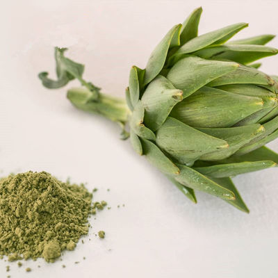 China Yellow Green Fine Organic Plant Powder Artichoke Powder Increase Bile Production supplier