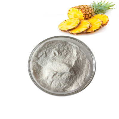 China Food Grade 100% Organic Fruit And Vegetable Juice Powder Nature Pineapple Bromelain Fruit Powder supplier