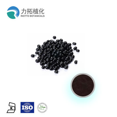 China Black Bean Extract Plant Essential Oils Anthocyanin 5% - 25% For Anti-Oxidant distributor