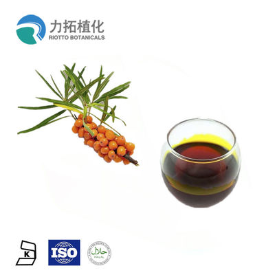 China CAS 90106-68-6 Sea Buckthorn Oil Fruit Part Total Flavones Brown Fine Powder distributor